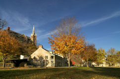 Downtown Harpers Ferry Royalty Free Stock Photo