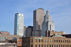 Downtown Hartford in Connecticut Royalty Free Stock Photo
