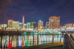 Downtown Hartford Connecticut Stock Images