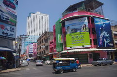 Downtown Hat Yai Royalty Free Stock Photo