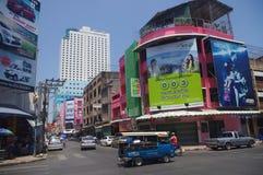 Downtown Hat Yai Royalty Free Stock Photo