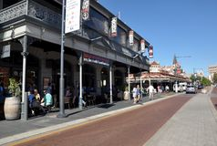 Downtown Historic Fremantle Royalty Free Stock Images