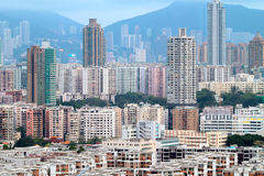 Downtown of Hong Kong Royalty Free Stock Photography