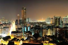 Downtown of Hong Kong. High density, poor area royalty free stock photos