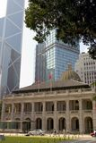 Downtown Hong Kong Stock Photography