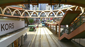Downtown hong kong : causeway bay Royalty Free Stock Image