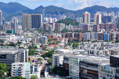 Downtown of Hong Kong city Royalty Free Stock Images