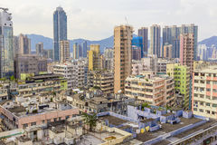 Downtown of Hong Kong Stock Image
