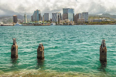 Downtown Honolulu Stock Photography