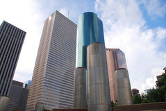 Downtown Houston Royalty Free Stock Images