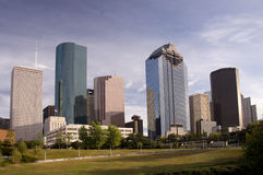 Downtown Houston Royalty Free Stock Photo