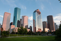 Downtown Houston Royalty Free Stock Photography