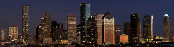 Downtown houston Royalty Free Stock Photos