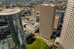 Downtown Houston buildings Stock Photos
