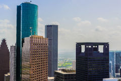Downtown Houston buildings Stock Images