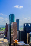 Downtown Houston buildings Stock Photo