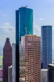 Downtown Houston buildings Royalty Free Stock Images
