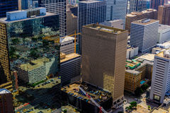 Downtown Houston buildings Royalty Free Stock Photo