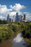 Downtown Houston City Skyline Royalty Free Stock Photo