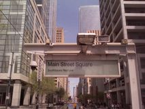 Downtown Houston royalty free stock photos