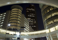 Downtown Houston at night Royalty Free Stock Image