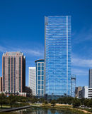 Downtown Houston office buildings Stock Image