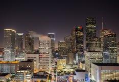 Downtown Houston Skyline Royalty Free Stock Photo