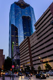 Downtown Houston streetscape Stock Photo
