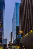 Downtown Houston streetscape Stock Photography