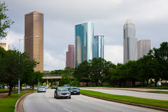 Downtown Houston Texas Royalty Free Stock Photos