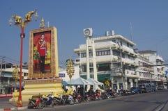 Downtown Hua Hin Stock Photo