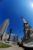 Downtown Indianapolis Royalty Free Stock Photography