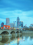 Downtown of Indianapolis Stock Photography