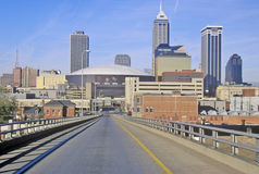 Downtown Indianapolis, Indiana stock images