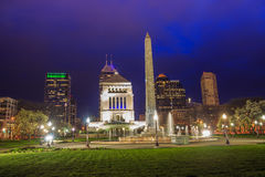 Downtown Indianapolis skyline Royalty Free Stock Photo