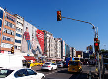 Downtown Istanbul stock photo
