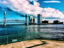 Downtown Jacksonville Florida Stock Image