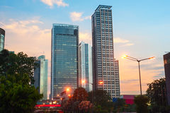 Downtown of Jakarta, Indonesia Stock Photo