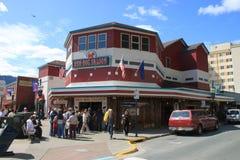 Downtown Juneau Stock Photo
