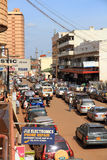 Downtown Kampala Street Stock Image