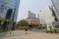 Downtown in Kobe, Japan. Stock Photos