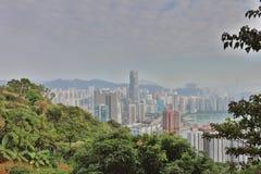 Downtown Kowloon Hongkong from Tsuen Wan Royalty Free Stock Image