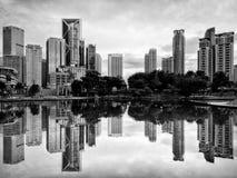 Downtown Kuala Lumpur Stock Photo
