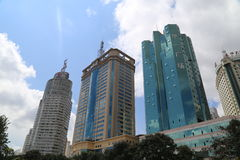 Downtown Kunming Stock Photography