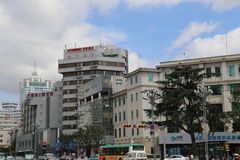 Downtown Kunming Royalty Free Stock Image