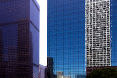 Downtown LA Los Angeles California details Royalty Free Stock Photos
