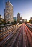 Downtown LA royalty free stock photo