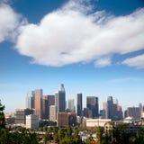 Downtown LA Los Angeles skyline California Stock Images