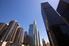 Downtown LA Los Angeles skyline California Royalty Free Stock Photo