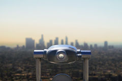 Downtown LA royalty free stock images